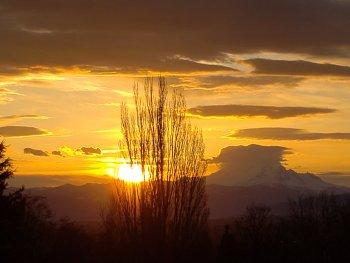 Sunrise (March 18, 2021). Photo courtesy of Jackie Rodriguez of Ferndale.